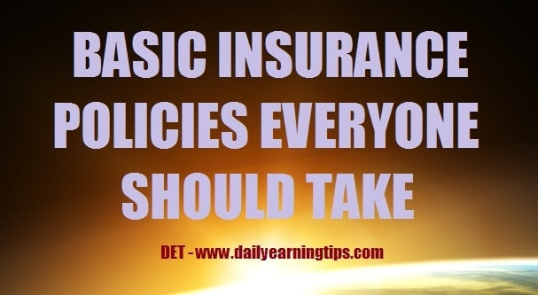 BASIC INSURANCE POLICIES